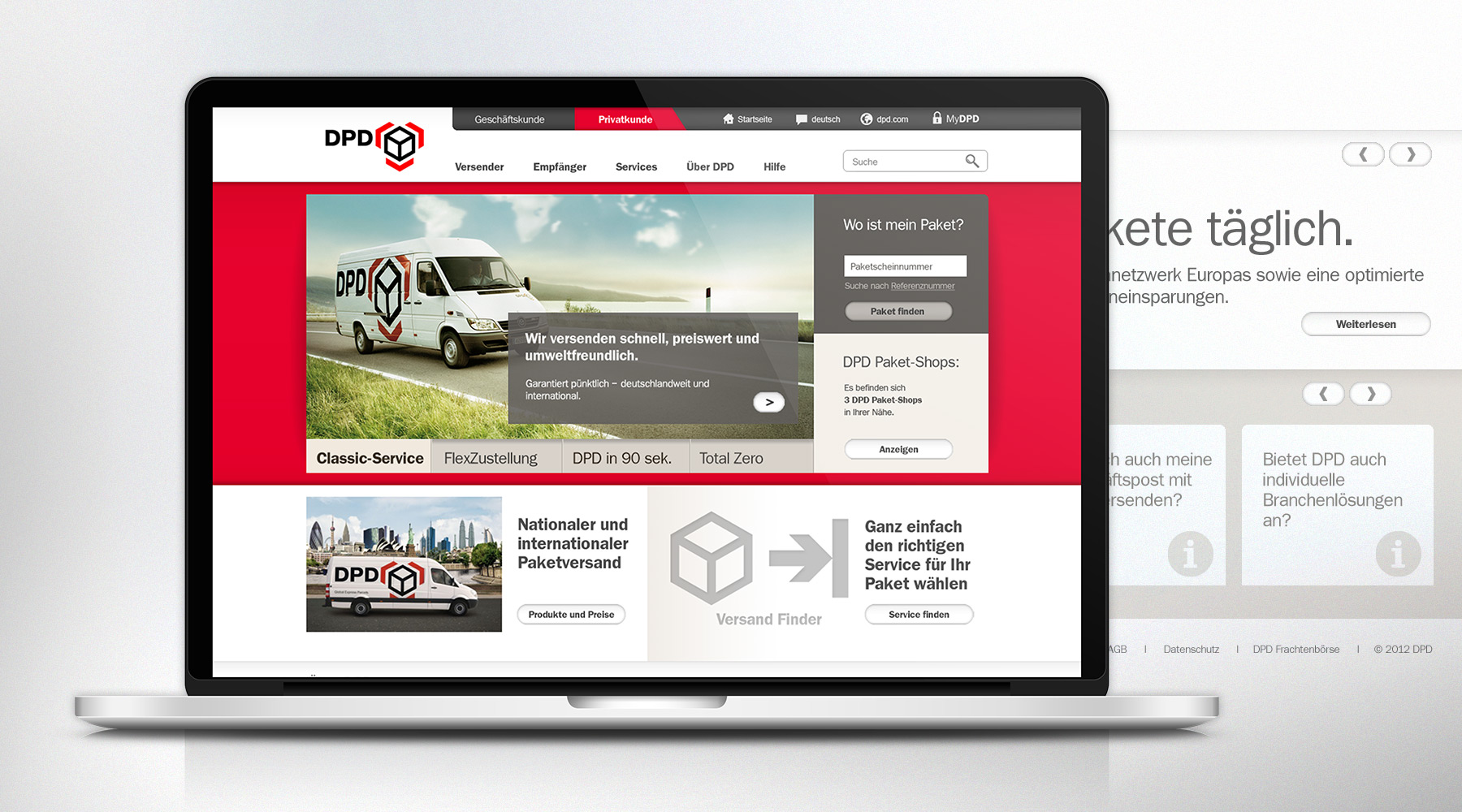 DPD Relaunch Design