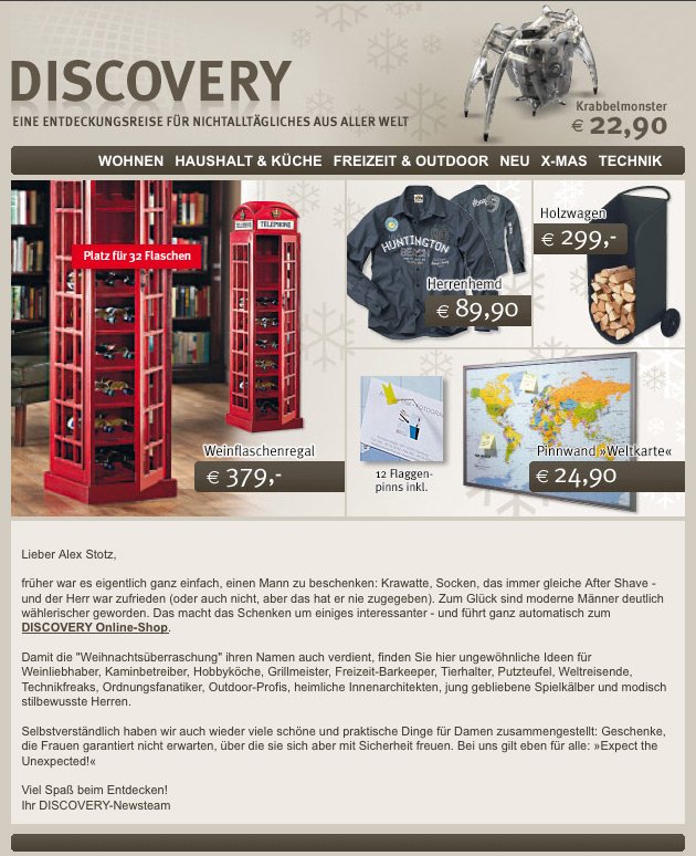 DISCOVERY NEWSLETTER KW47