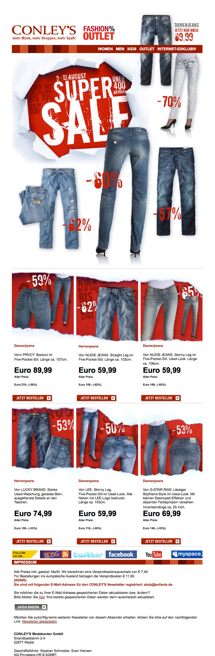 SUPERSALE | Jeans