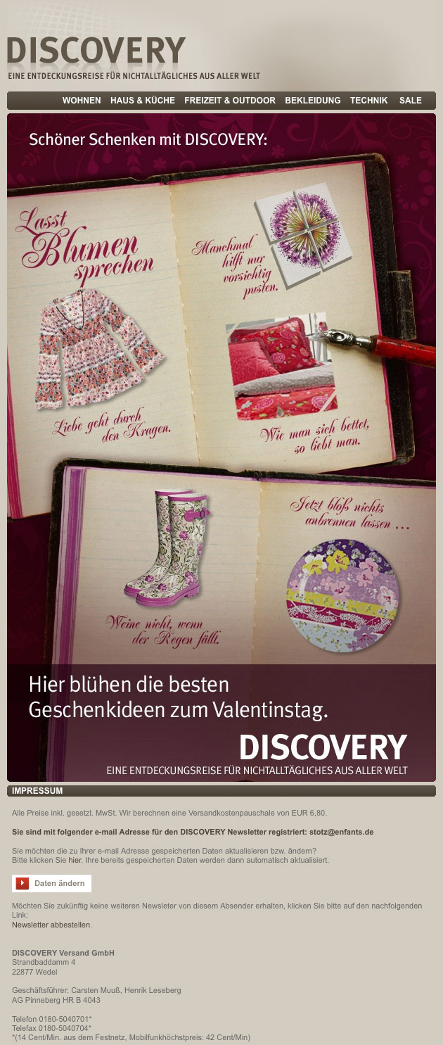 DISCOVERY | Valentinstag Special