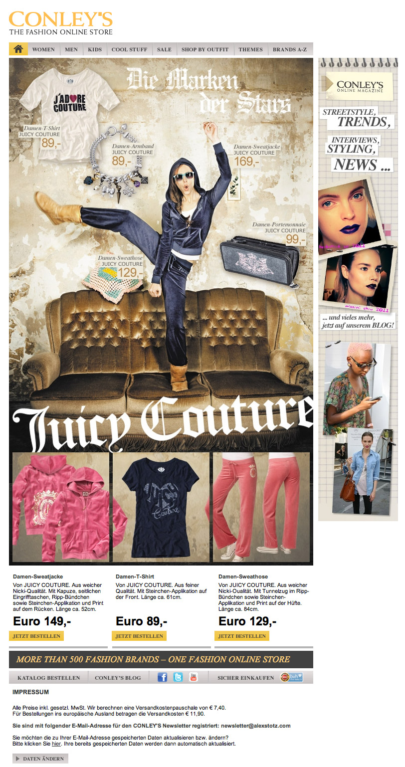 CONLEY'S - Juicy Couture